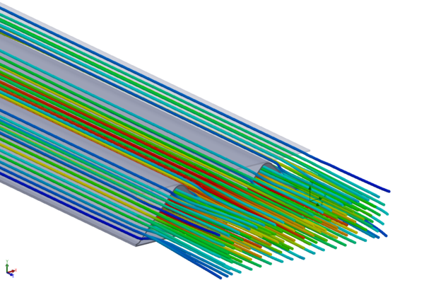 Optimisation of the profile with simulation and measurement by our development department